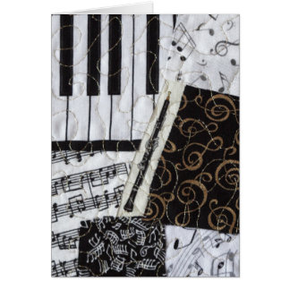Oboe Woodwind Musical Instrument Card