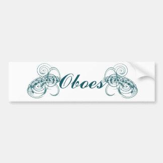Oboes Bumper Sticker
