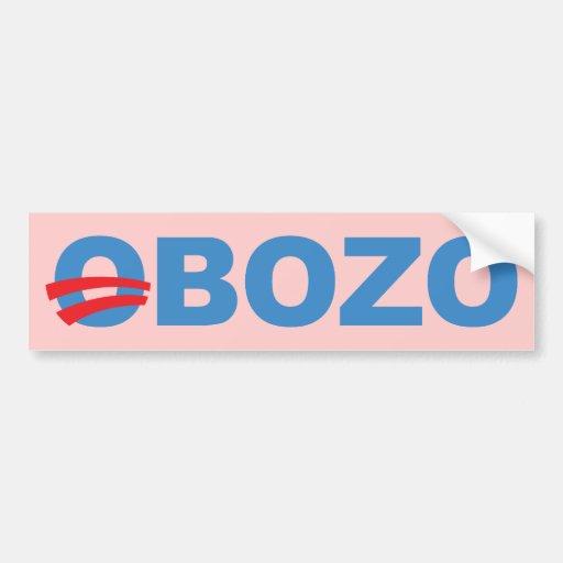 Obozo Obama Adhésif Pour Voiture