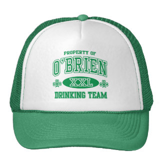 O'Brien Irish Drinking Team Trucker Hat