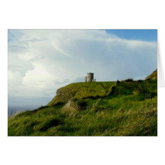 O'Brien's Tower, Cliffs of Moher, Ireland Card