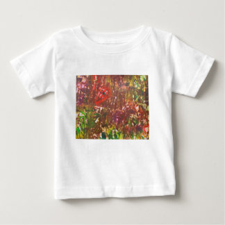 Obscured by Jungle Leaves Baby T-Shirt