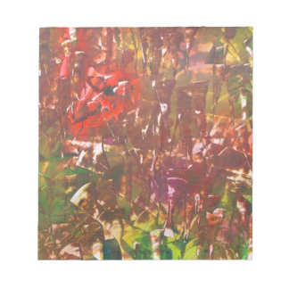 Obscured by Jungle Leaves Notepad