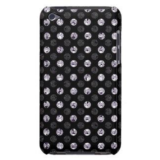 Obscurité argentée d'effet de paillette de coque iPod touch Case-Mate