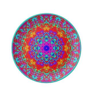 Observance Mandala Style Plate