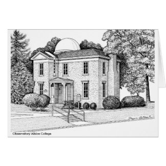 Observatory, Albion College Card