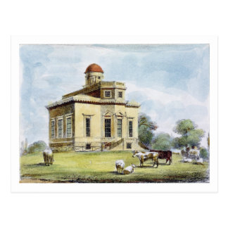 Observatory, Richmond Gardens, plate 14 from 'Kew Postcard