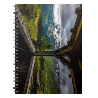Observing The Grindelwald Valley And Swiss Alps Notebook