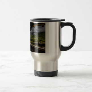 Observing The Grindelwald Valley And Swiss Alps Travel Mug