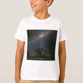 Observing the Milky Way using the Laser Guide Star T-Shirt
