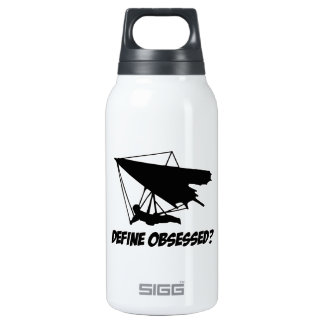 Obsessed with hang glide insulated water bottle