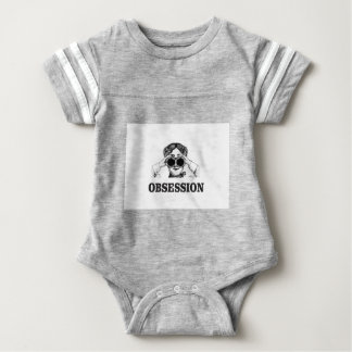 obsession woman baby bodysuit