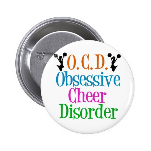 Obsessive Cheer Disorder Pins