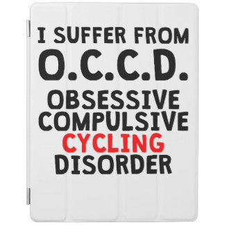 Obsessive Compulsive Cycling Disorder iPad Cover