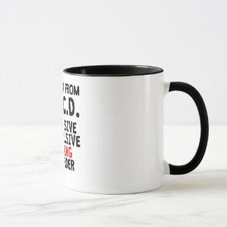Obsessive Compulsive Cycling Disorder Mug