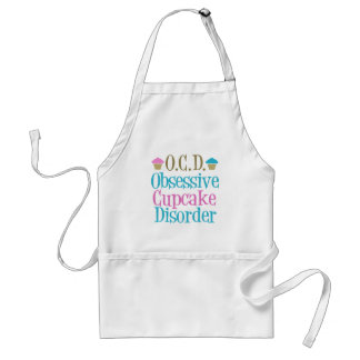 Obsessive Cupcake Disorder Apron