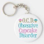 Obsessive Cupcake Disorder Key Chains