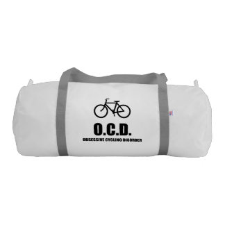Obsessive Cycling Disorder Gym Bag