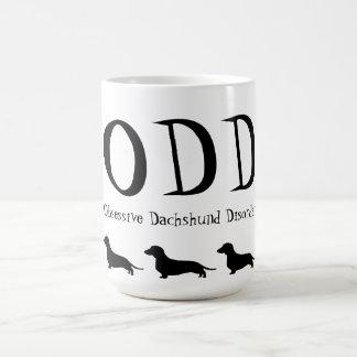 Obsessive Dachshund Disorder Coffee Mug