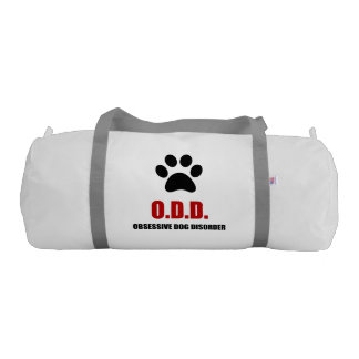 Obsessive Dog Disorder Gym Bag