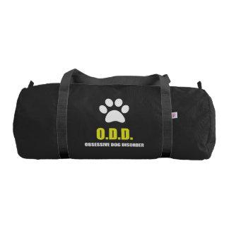 Obsessive Dog Disorder Gym Bag