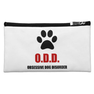 Obsessive Dog Disorder Makeup Bags