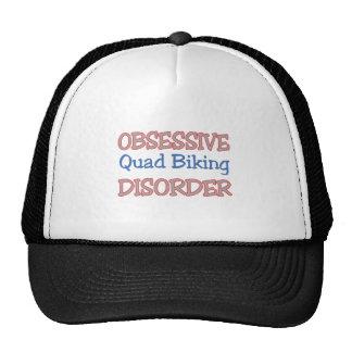 Obsessive Quad Biking Disorder Mesh Hat