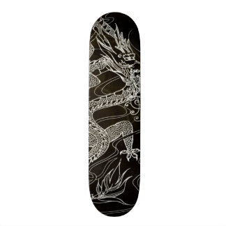 Obsidian Dragon Element Custom Pro Park Board Skate Board Deck