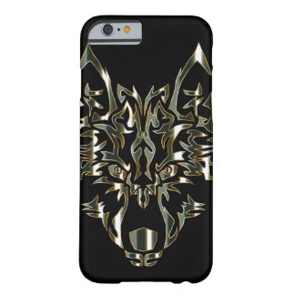 obsidian symmetric wolf design iphone case