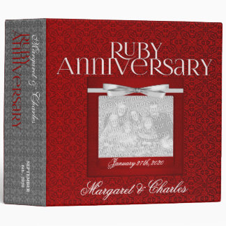 OBSOLETE: 40th Ruby Anniversary Binder