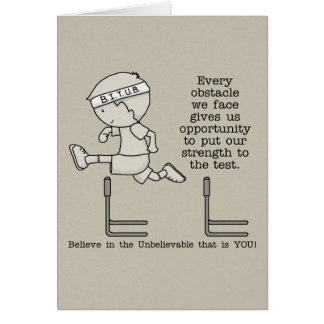 Obstacles Card