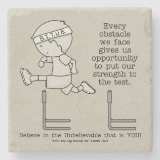 Obstacles Stone Coaster