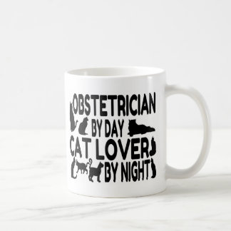 Obstetrician Cat Lover Coffee Mug