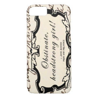 Obstinate Headstrong Girl iPhone 8/7 Case