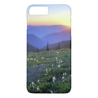 Obstruciton Point Sunset, Olympic NP, WA, USA iPhone 7 Plus Case