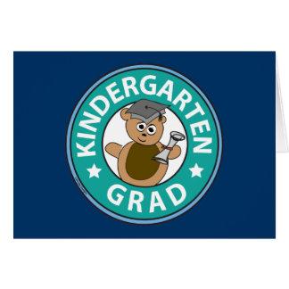 Obtention du diplôme de jardin d'enfants carte