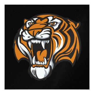 Obtention du diplôme de tigre - SRF Carton D'invitation 13,33 Cm
