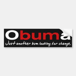 Obuma-Just another bum Bumper Sticker