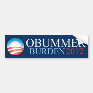 Obummer - Burden 2012 - Bumper Sticker