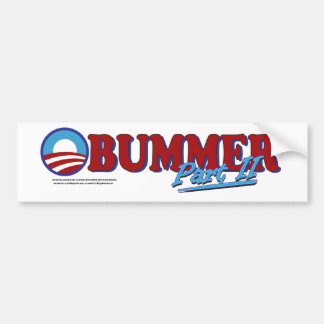 Obummer Part 2 Bumper Sticker