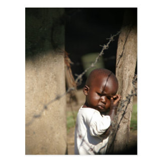Obunga Child Postcard