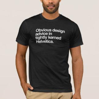 Obvious design advice - Helvetica T-Shirt