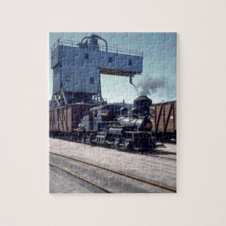 OBW 18 ton Shay locomotive #1_Trains Jigsaw Puzzle