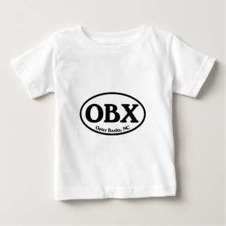 OBX Outer Banks Oval Baby T-Shirt