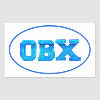 OBX Outer Banks Sticker