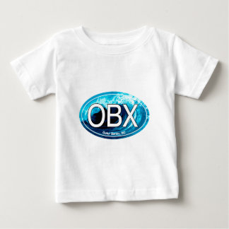 OBX Outer Banks Wave Oval Tee Shirt