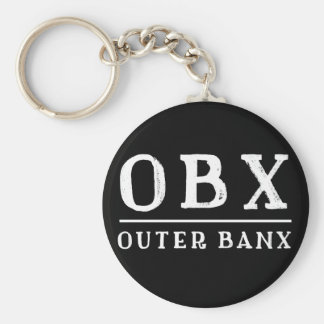 OBX Outer Banx OUTER BANKS North Carolina Keychain