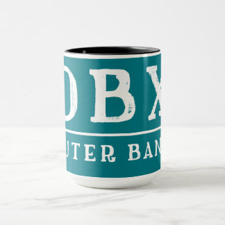 OBX Outer Banx OUTER BANKS North Carolina Mug