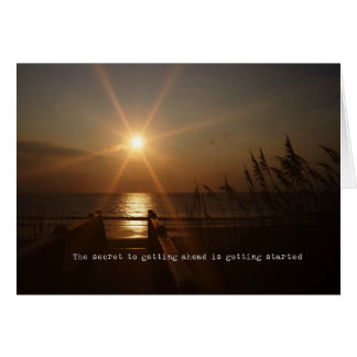OBX SUNRISE 5x7 Greeting Card