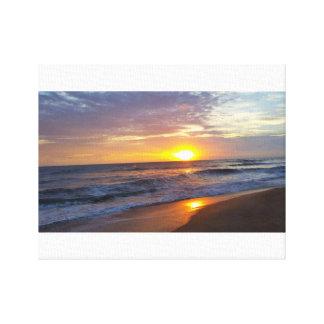 OBX Sunrise Canvas Print